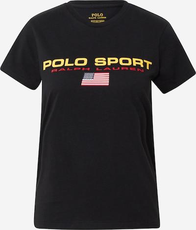POLO RALPH LAUREN T-shirt en noir, Vue avec produit
