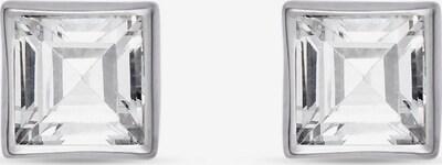FAVS Ohrstecker in silber / transparent, Produktansicht