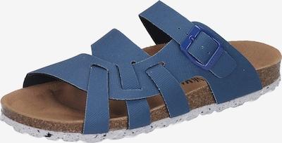 DR. BRINKMANN Pantolette in blau, Produktansicht