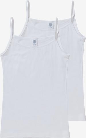 SANETTA Unterhemd in Weiß
