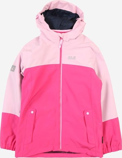 JACK WOLFSKIN Sport-Jacke 'G Iceland' in pink / rosa, Produktansicht