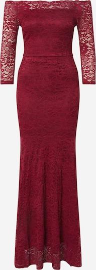 WAL G. Suknia wieczorowa w kolorze czerwone winom, Podgląd produktu