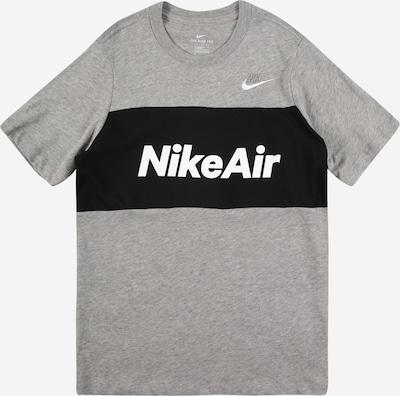 Nike Sportswear T-Shirt en gris, Vue avec produit