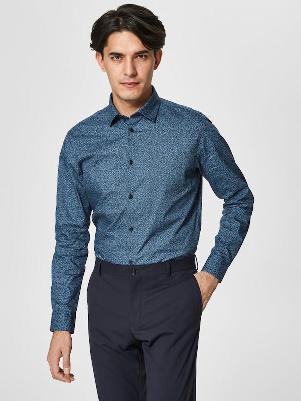 SELECTED HOMME Slim-Fit-Langarmhemd