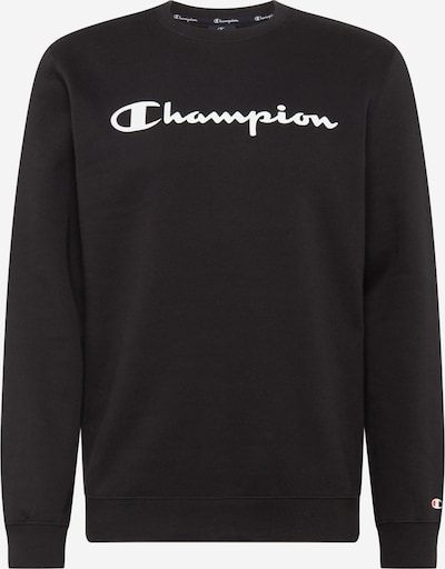 Champion Authentic Athletic Apparel Sweatshirt in schwarz / weiß: Frontalansicht