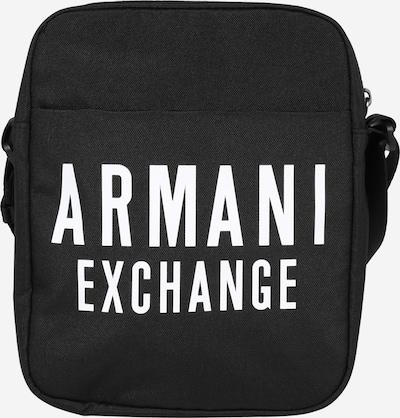 ARMANI EXCHANGE Sac à bandoulière en noir / blanc, Vue avec produit