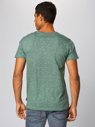 Iriedaily T-Shirt 'Chamisso' in dunkelgrün: Rückansicht