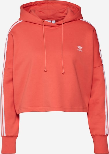 ADIDAS ORIGINALS Sweatshirt in de kleur Oranjerood / Wit, Productweergave