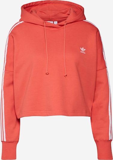ADIDAS ORIGINALS Sweatshirt in orangerot / weiß, Produktansicht