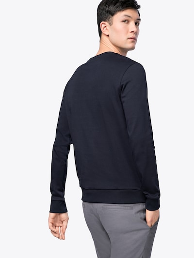 HUGO Sweatshirt mit Icon-Print 'Dicago' in navy: Rückansicht