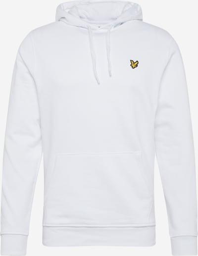 Lyle & Scott Sweat-shirt en blanc, Vue avec produit