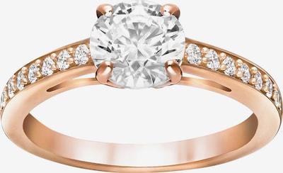 Swarovski Ring in rosegold / weiß, Produktansicht