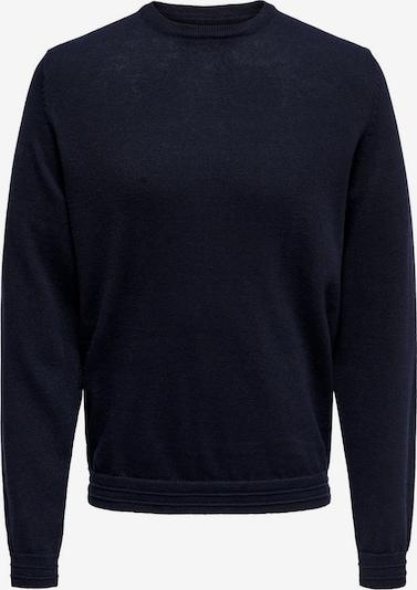 Only & Sons Pullover in nachtblau, Produktansicht