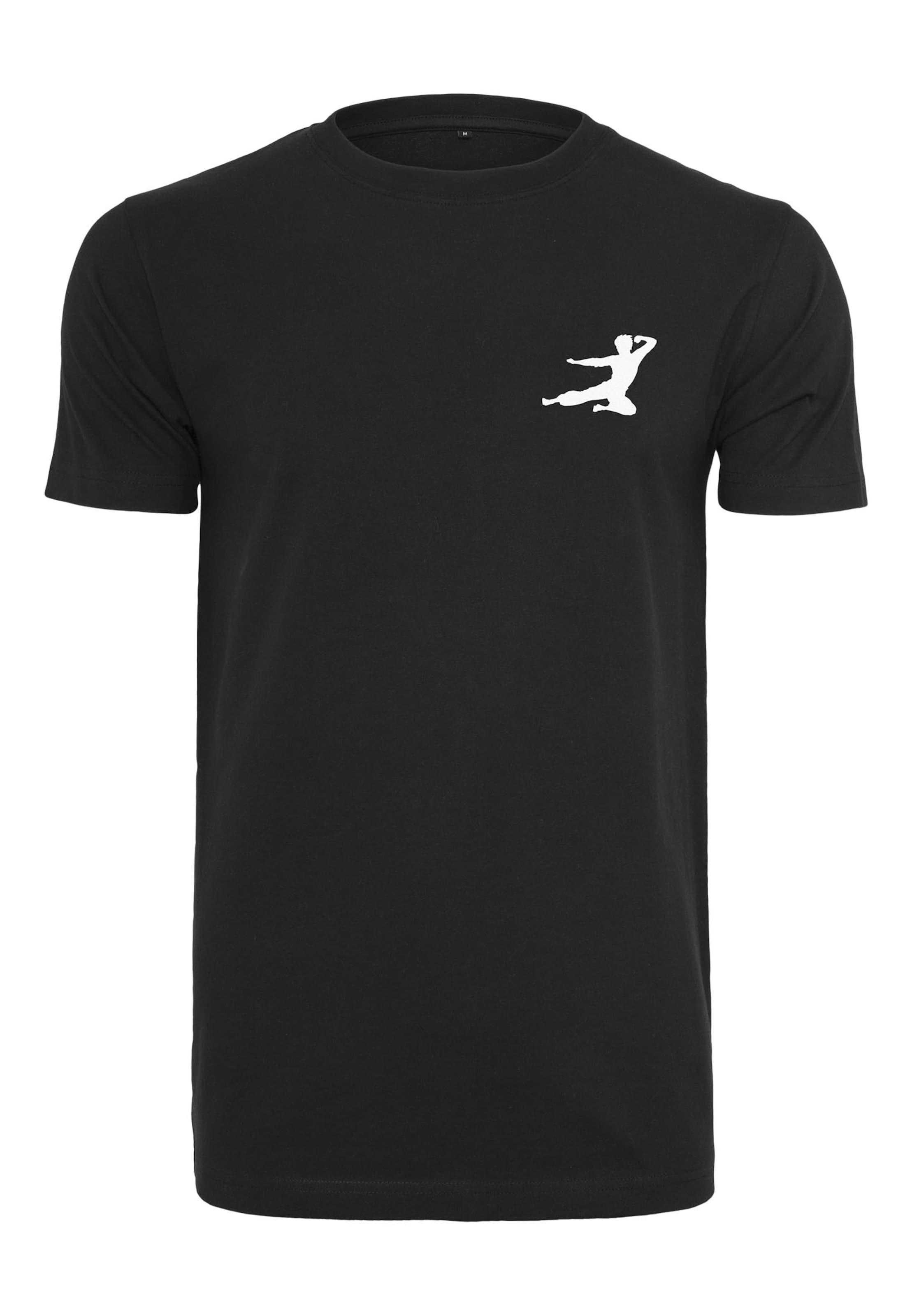 Mister Tee In Shirt Lee SchwarzWeiß Logo' 'bruce ukiXZP