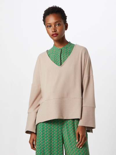 Native Youth Pullover 'ALTON JUMPER' in champagner: Frontalansicht