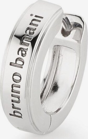 BRUNO BANANI Single-Creole 'B4020E/90/00' in silber, Produktansicht