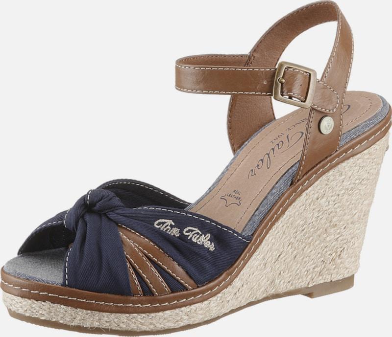 TOM TAILOR Sandalette mit Keilabsatz