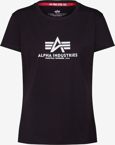 ALPHA INDUSTRIES Majica 'New Basic T Wmn' u crna, Pregled proizvoda
