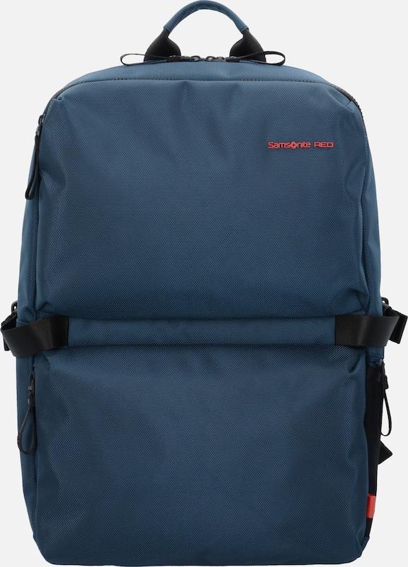 Samsonite Red 'Clovel' Rucksack L 49,5 cm Laptopfach
