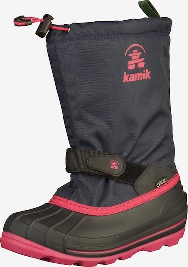 Kamik Boots en bleu, Vue avec produit