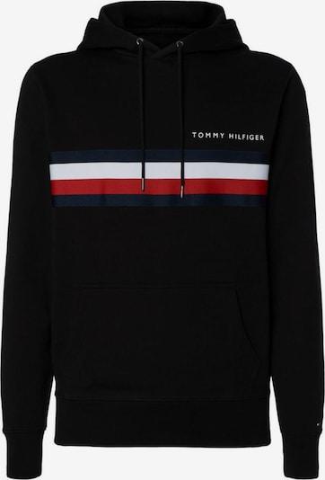 TOMMY HILFIGER Sweatshirt in dunkelblau / rot / schwarz / weiß, Produktansicht