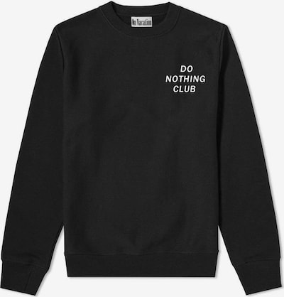On Vacation Sweatshirt in schwarz / weiß, Produktansicht