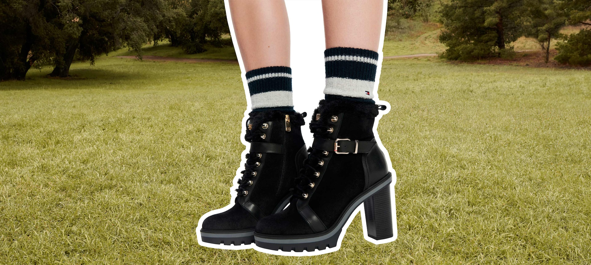 New Boots by Tommy Hilfiger