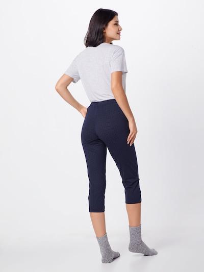 SCHIESSER Pantalon de pyjama en bleu nuit: Vue de dos