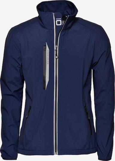 CODE-ZERO Softshell-Jacke 'HALYARD' in blau, Produktansicht