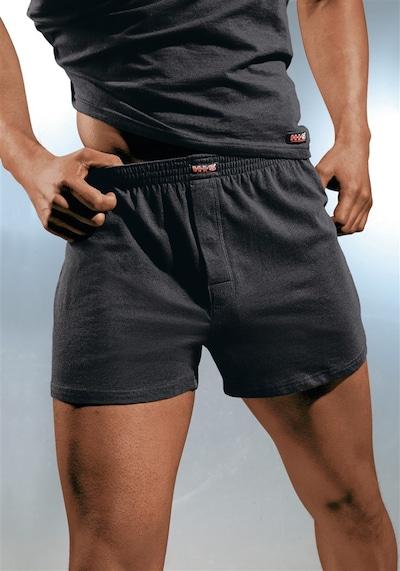 Boxer trumpikės iš H.I.S , spalva - juoda, Modelio vaizdas