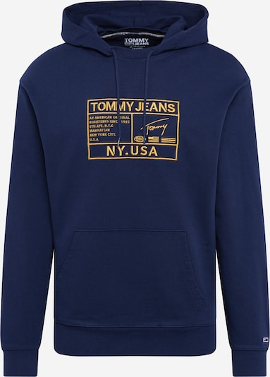 Tommy Jeans Mikina ' Surplus ' - tmavě modrá / žlutá, Produkt
