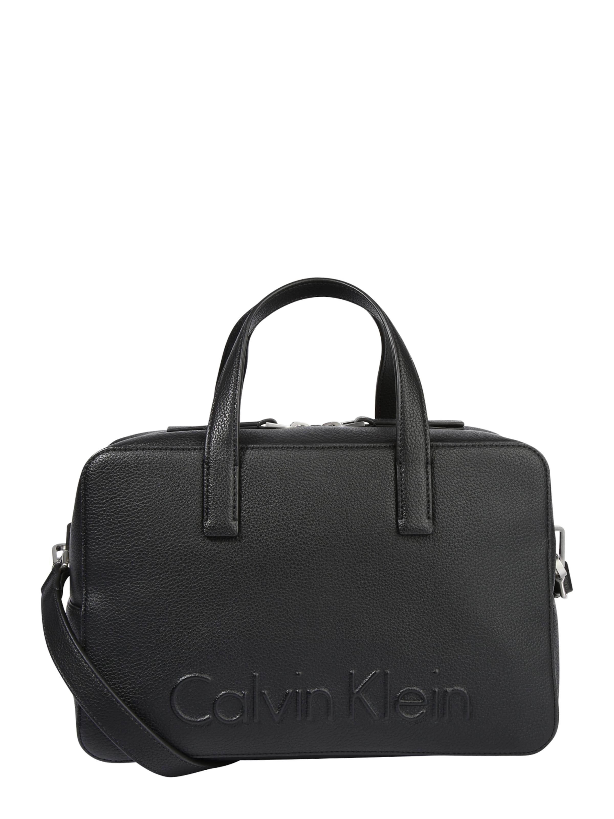 Calvin Klein Handtasche 'EDGE' Werksverkauf 2018 Unisex Zum Verkauf Limit Rabatt Freies Verschiffen Große Auswahl An Freies Verschiffen 100% Garantiert 509FSwJpgH