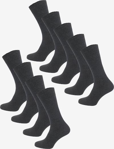 camano Socken in dunkelgrau, Produktansicht