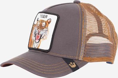 GOORIN Bros. Pet 'Eye Of The Tiger' in de kleur Bruin / Cognac / Zwart / Wit, Productweergave