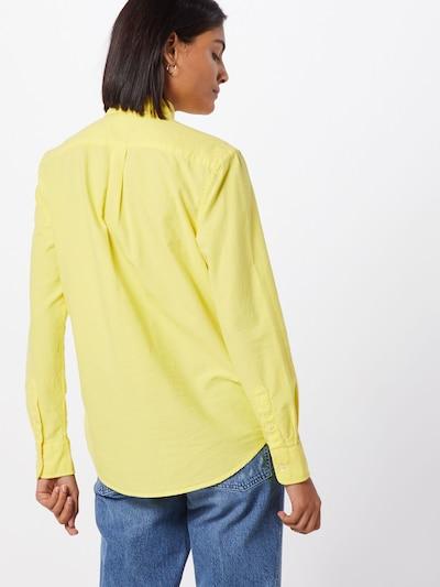 POLO RALPH LAUREN Blouse in de kleur Geel: Achteraanzicht
