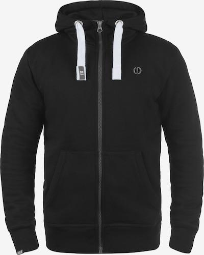 !Solid Kapuzensweatjacke 'Benn High-Neck' in schwarz, Produktansicht