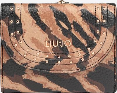 Liu Jo Portemonnaie 'Trifold' in beige / braun / schwarz, Produktansicht