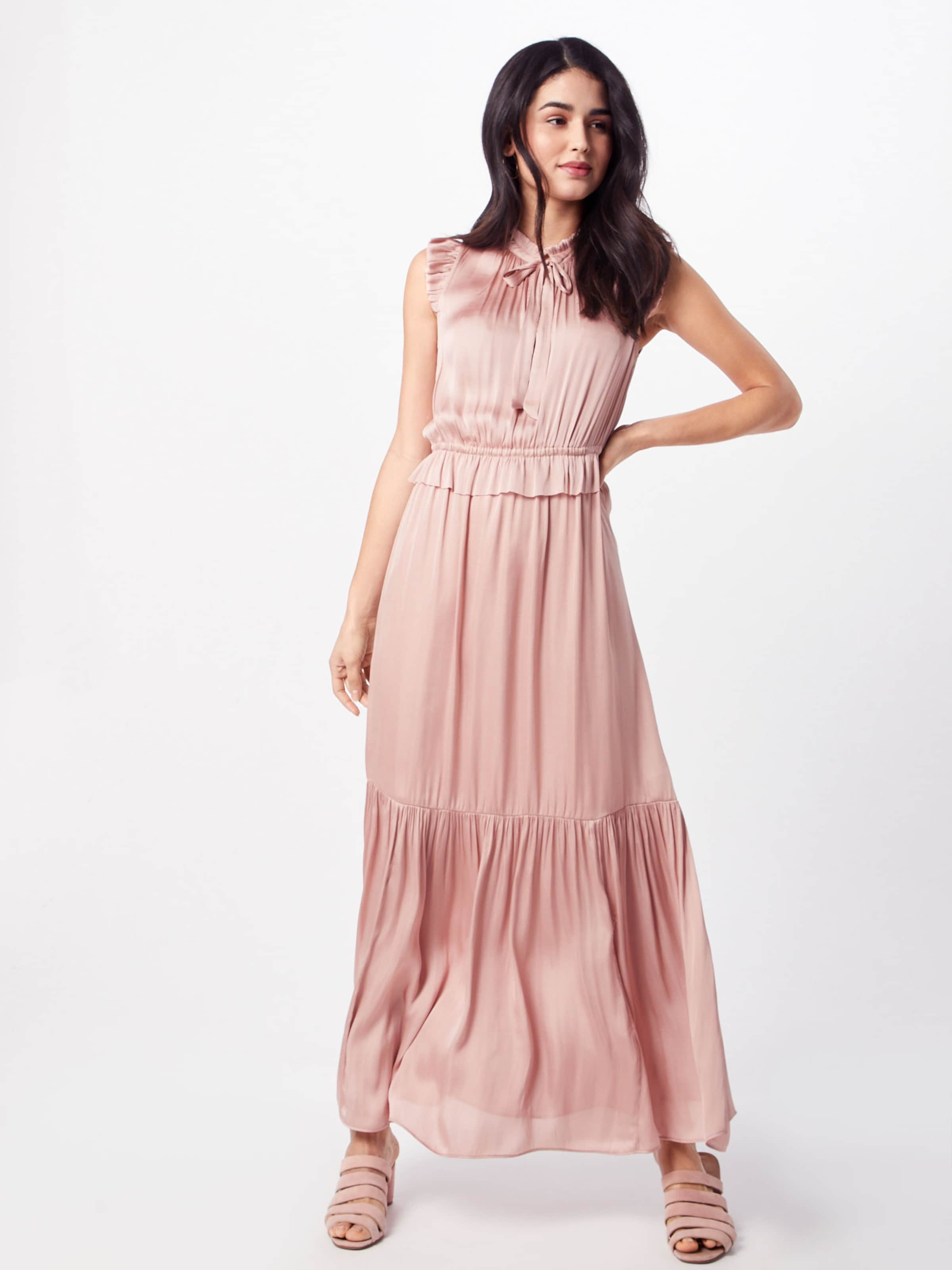 Solid' Kleid Banana In Rosa 'sl Neck Tie Maxi Republic pSLzVGqjUM