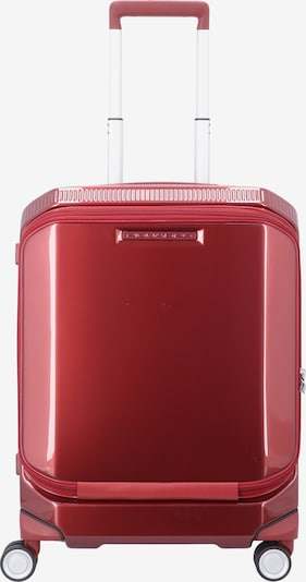 Piquadro Trolley 'Cubica' in rot, Produktansicht