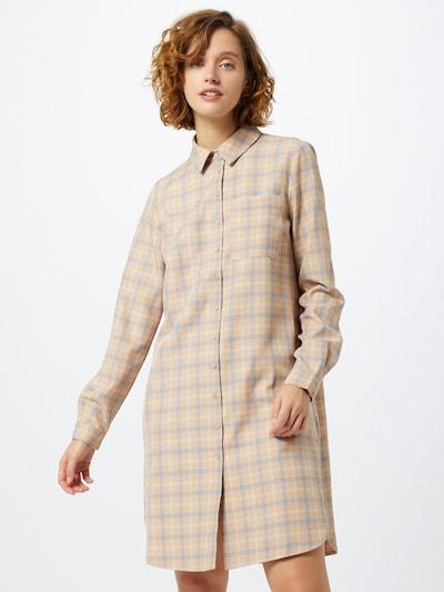 Y.A.S Kleid in beige / hellblau / weiß, Modelansicht