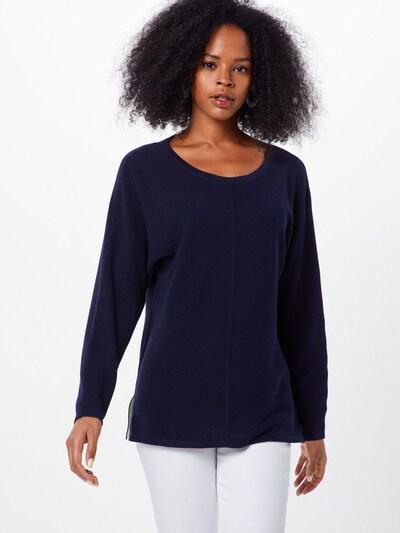 ESPRIT Sweter 'OCS sweater Sweaters' w kolorze granatowym: Widok z przodu