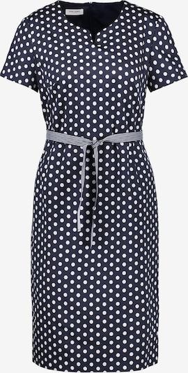 GERRY WEBER Kleid in dunkelblau / weiß, Produktansicht