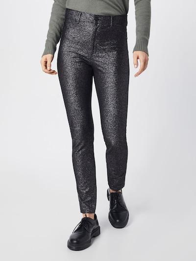 CHEAP MONDAY Jeans in schwarz / silber: Frontalansicht