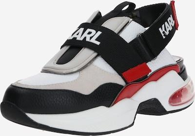 Karl Lagerfeld Sneaker 'VENTURA' in rot / schwarz / weiß, Produktansicht