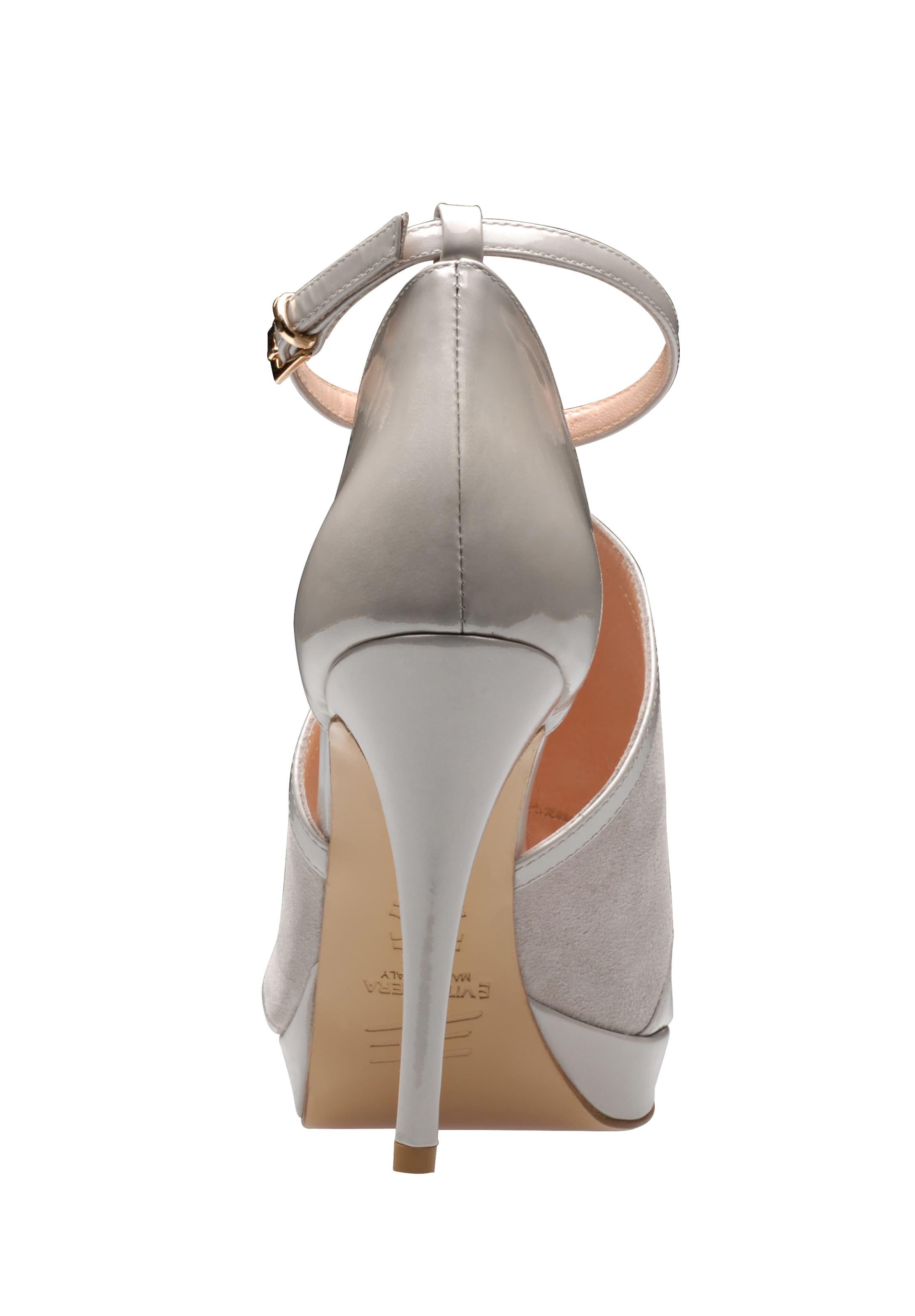 In Sandalette Silbergrau Evita Sandalette Evita In Silbergrau Sandalette Evita In c1JKlTF3