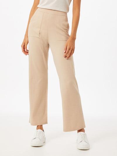 Part Two Spodnie 'Vaide' w kolorze beżowym, Podgląd na modelu(-ce)