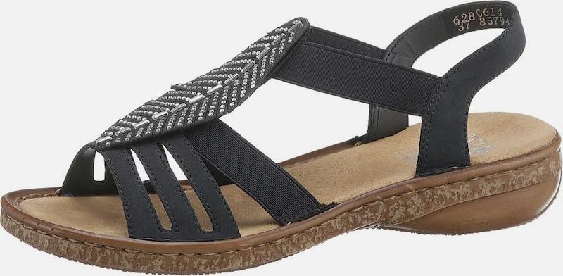 RIEKER Sandale sonstiges Material Billige Herren- und Damenschuhe