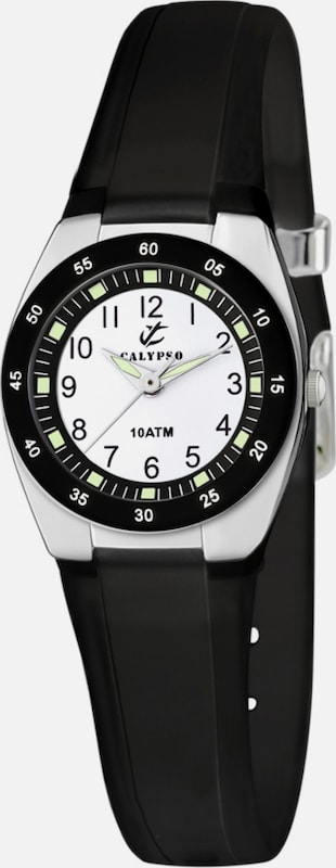 CALYPSO WATCHES Quarzuhr 'K6043/F' in schwarz: Frontalansicht
