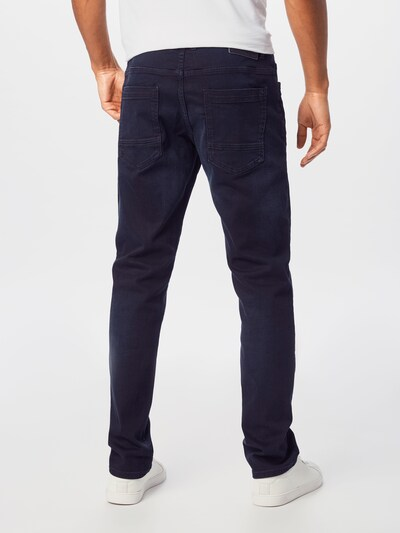 TOM TAILOR Jeans 'Josh' in blue denim: Rückansicht