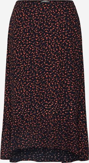 MOSS COPENHAGEN Rok 'Milana Morocco' in de kleur Rood / Zwart, Productweergave